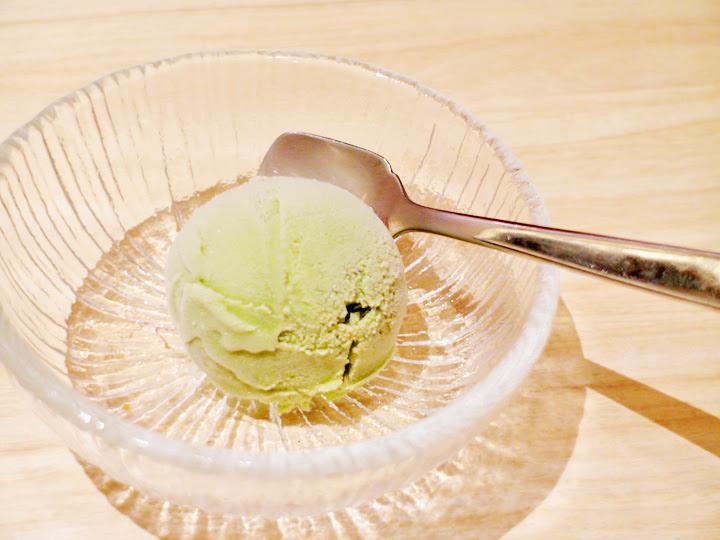 gren tea icecream