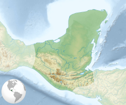 Maya civilization location map-blank.svg