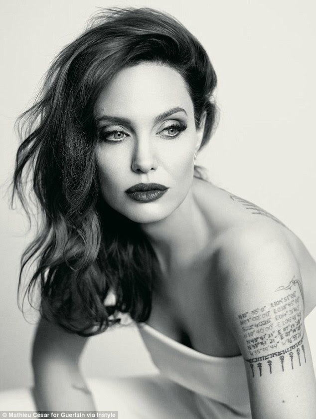 'I love it because it means I'm alive': Angelina Jolie opened up about embracing signs of aging in a new interview with InStyle