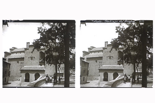1-06-D. Ribes. Toledo. Iglesia de Santiago del Arrabal. Gelatinobromuro sobre cristal (6 x 13);versión digitalizada. Mayo 1915. Colección Guillot-Ribes.