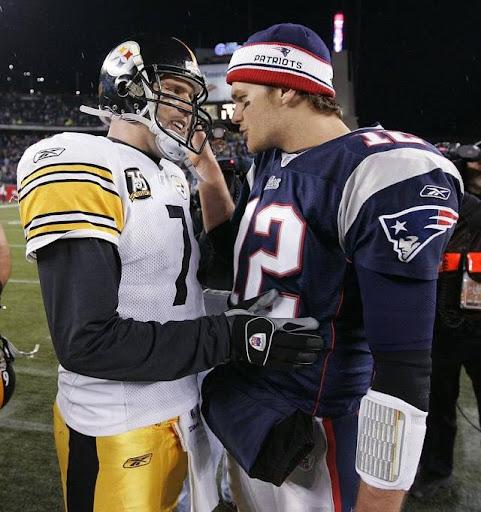 ben roethlisberger asks tom brady for jersey
