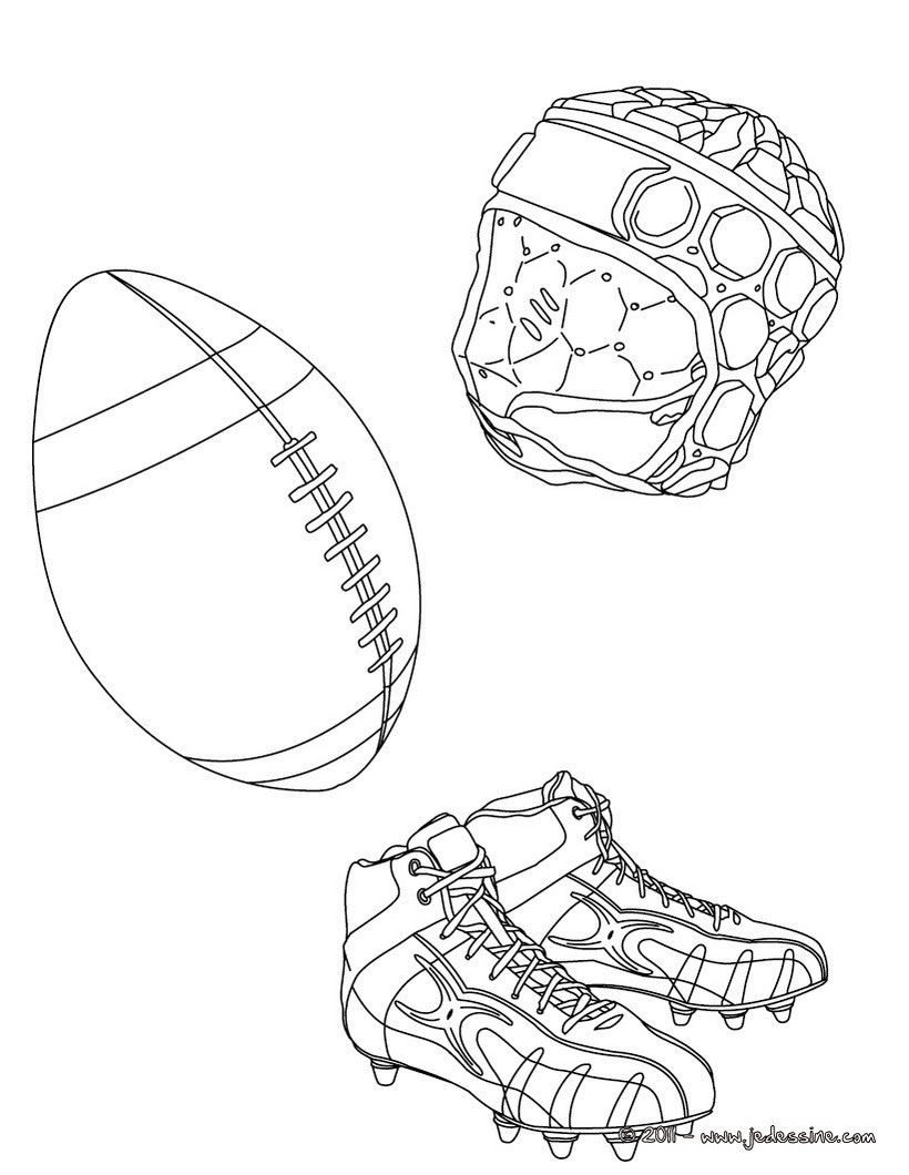 Coloriage Rugby Coloriages Coloriage à Imprimer Gratuit Fr