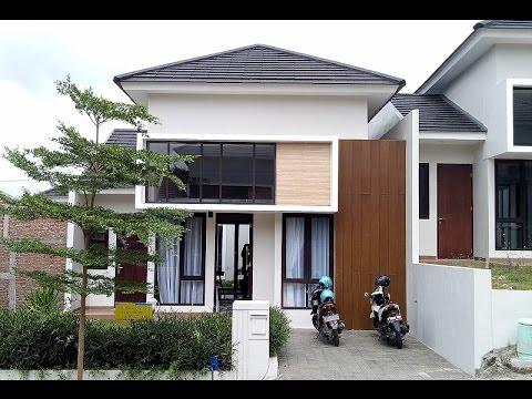 "Rumah Contoh"" Tipe Emerald Tipe 66 Di Pandanaran Hills Semarang"
