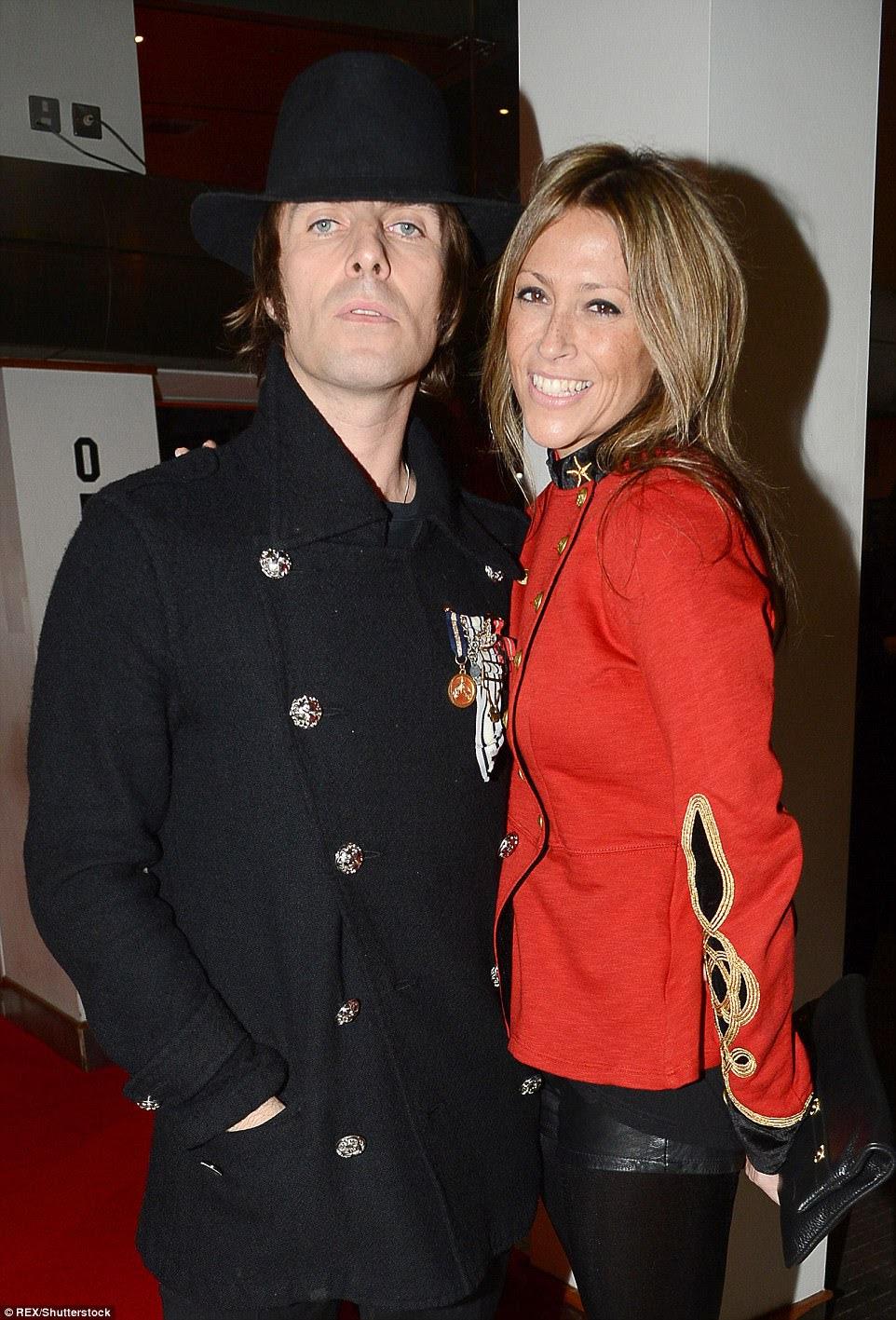 Agora, Liam também é pai do filho Gene, de 15 anos, com a segunda esposa, Nicole Appleton (foto em 2012)