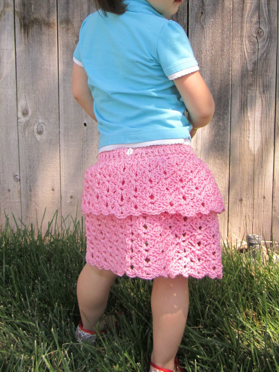 Fun Karla Skirt Crochet Pattern Sizes 6-9 Months, 12 Months and 2T to 5T