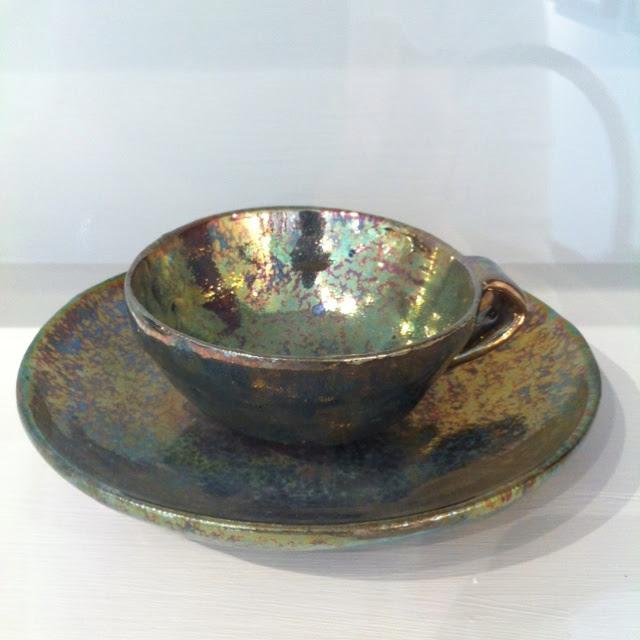 Beatrice Wood pottery.