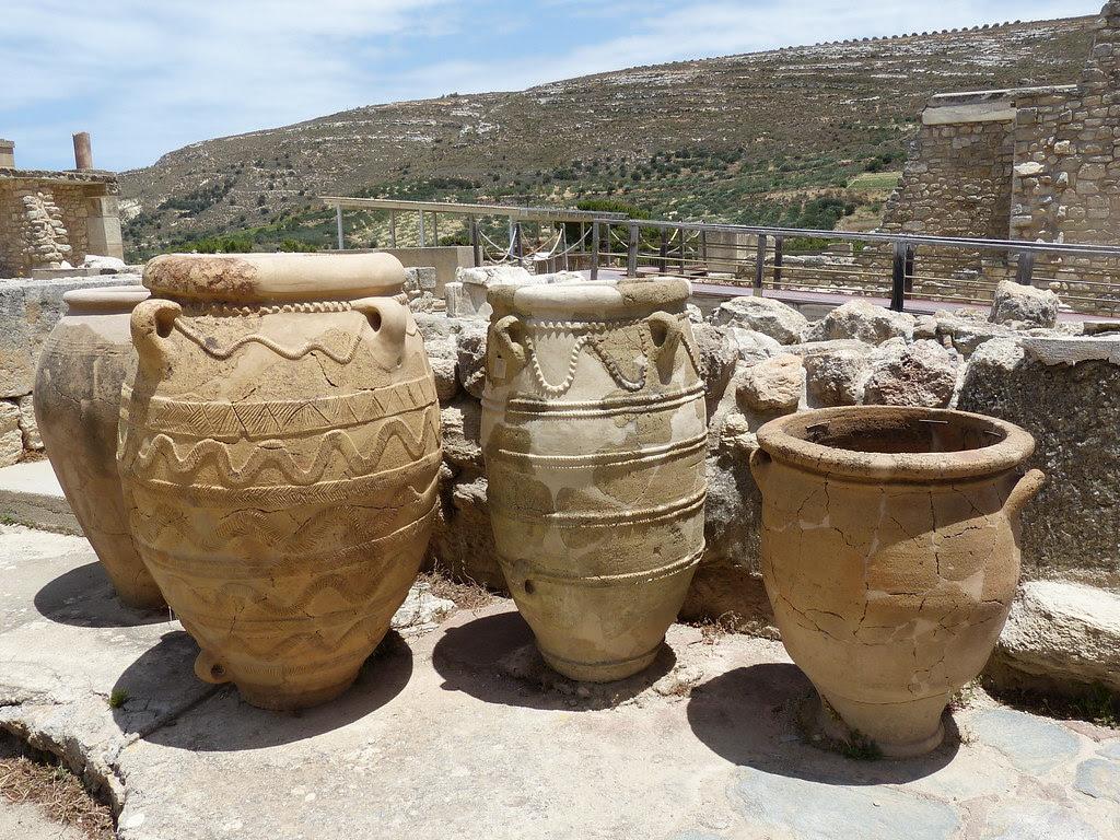 Pithoi, Knossos, Crete