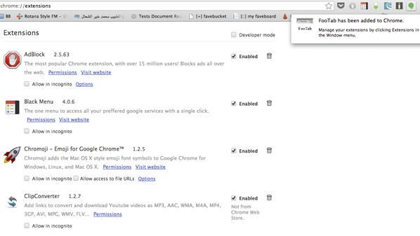 كثيراً مايتوقف تشغيل متصفح جوجل كروم بشكل آلي عند فتح الكثير من التبويبات