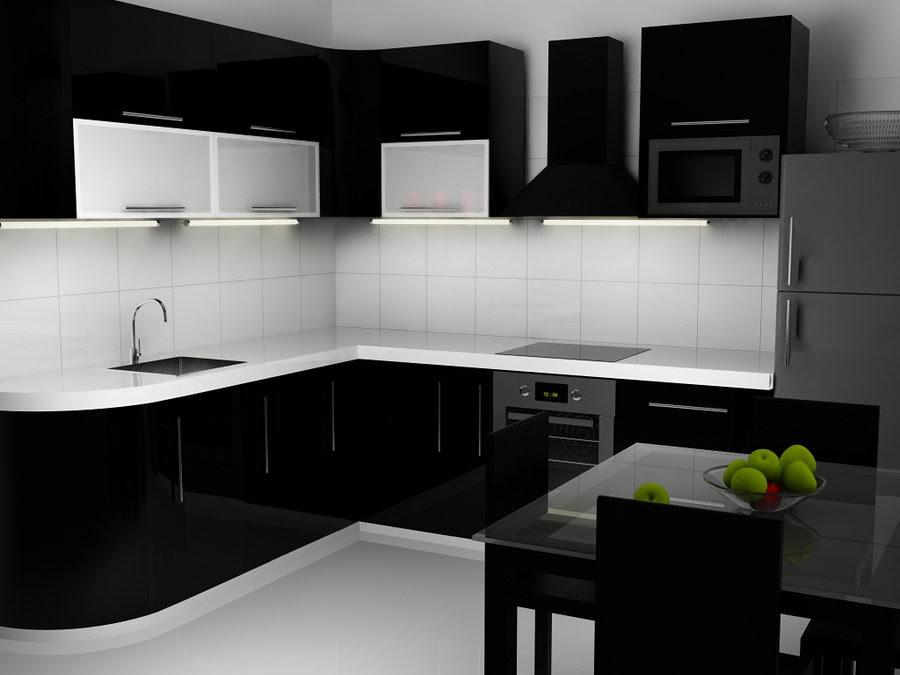 gambar peralatan dapur hitam putih