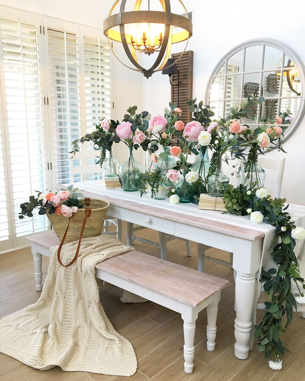 Ways To Decorate Your Home With Faux Flowers Afloral Com Wedding Blog