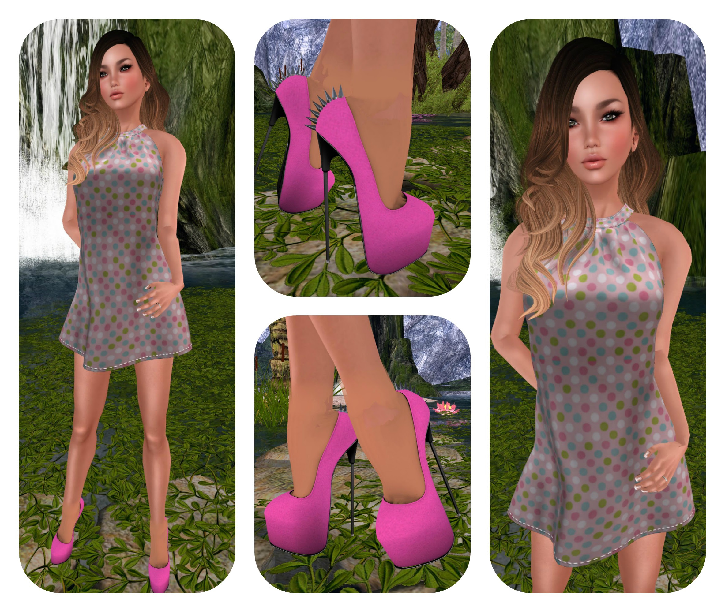Reve Anna dress & Carolina shoes
