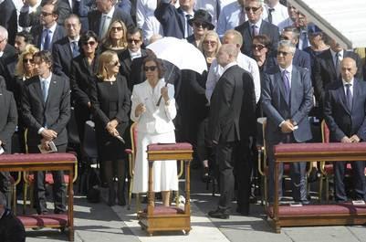 La Reina Sofía representó a España en la canonización de la Madre Teresa. (EFE)