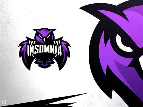 insomnia esports owl logo mascot logos owl logo logos
