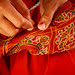 Ahir Embroidery stitching