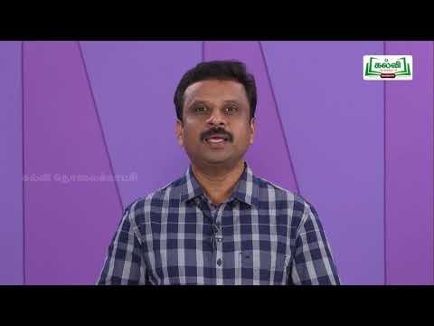 முப்பரிமாணம் Std 11 TM Physics  வேலை ஆற்றல் மற்றும் திறன் பகுதி 1 Kalvi TV