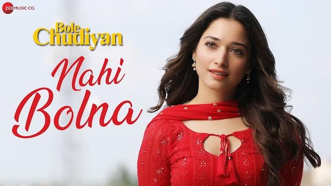 Jaave Re Ja Main Nahi Bolna Song Lyrics - Nawazuddin Siddiqui & Tamannah Bhatiya.