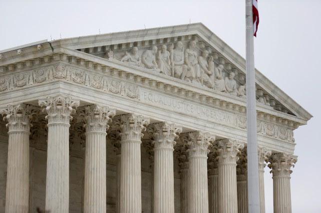La haute cour a ainsi entendu l'appel lancé... (Photo Joshua Roberts, archives REUTERS)