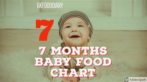 months baby food chart indian baby food recipes youtube
