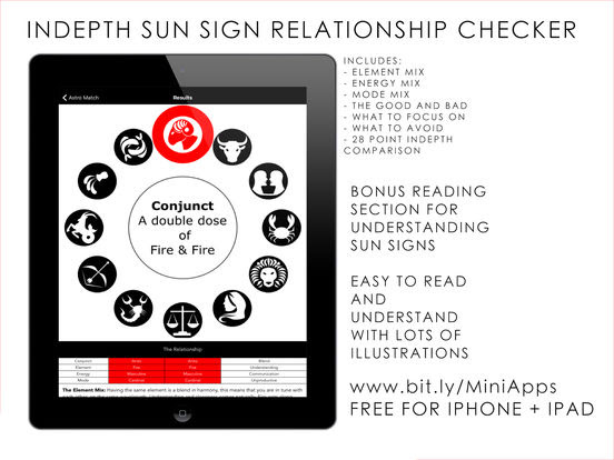 In depth Astrology relationship Checker App