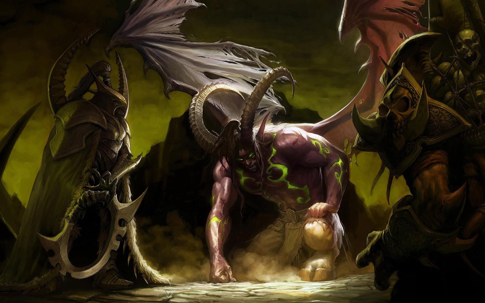 World Of Warcraft Legion Animated Wallpaper Nerd Or Die 1920x1200