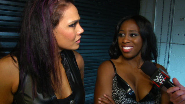 Naomi & Tamina comment on their victory at WWE Payback ...