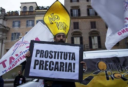 Prostituta precaria!
