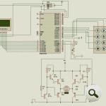 AT89C51 mã hóa-cửa-lock