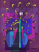 Artist  Singh - Pecock By Artist Singh