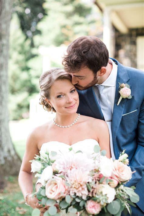 Lush   Romantic Inn at Grace Winery Wedding by Lindsay