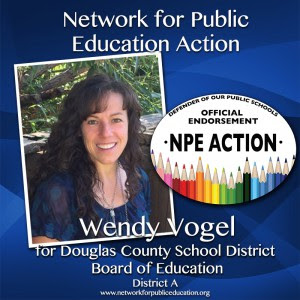 NPE Action Endorses Wendy Vogel for Douglas County