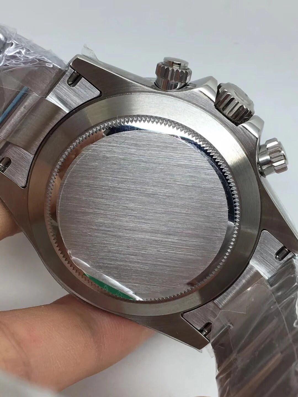 Noob Replica Rolex Daytona 116520 SS Black_5