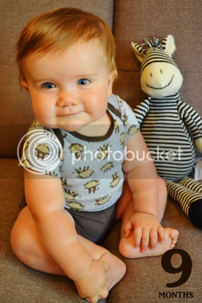 My 9 month baby boy