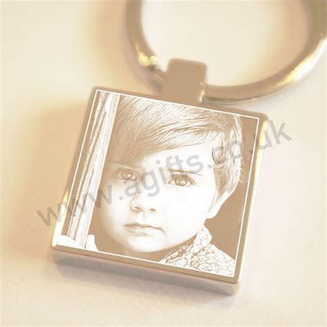 Keyring Personalised Photo Engraved Keychain