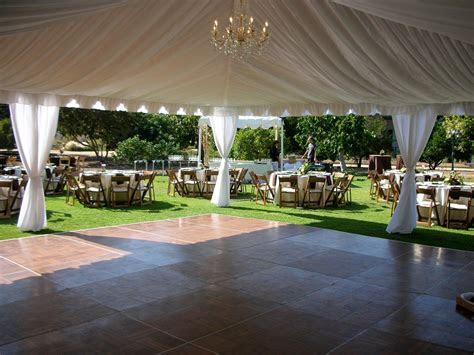 liner  leg drapes  dance floor tents