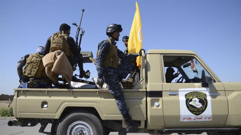 ISIL has launched preemptive strikes as government forces and their allies advance into Tikrit and Samarra [Reuters]