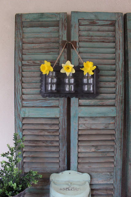 Bottle Blossom Wall Decor - Vintage American Home