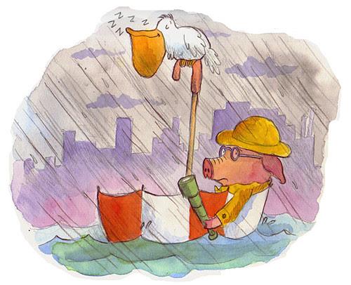 pig-unbrella
