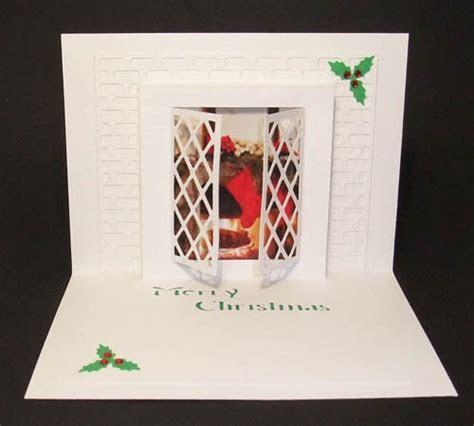 Christmas Window Pop Up Card