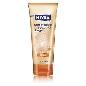 Nivea Sun-Kissed Beautiful Legs Gradual Tan Moisturizer 6.7 fl oz (200 ml)