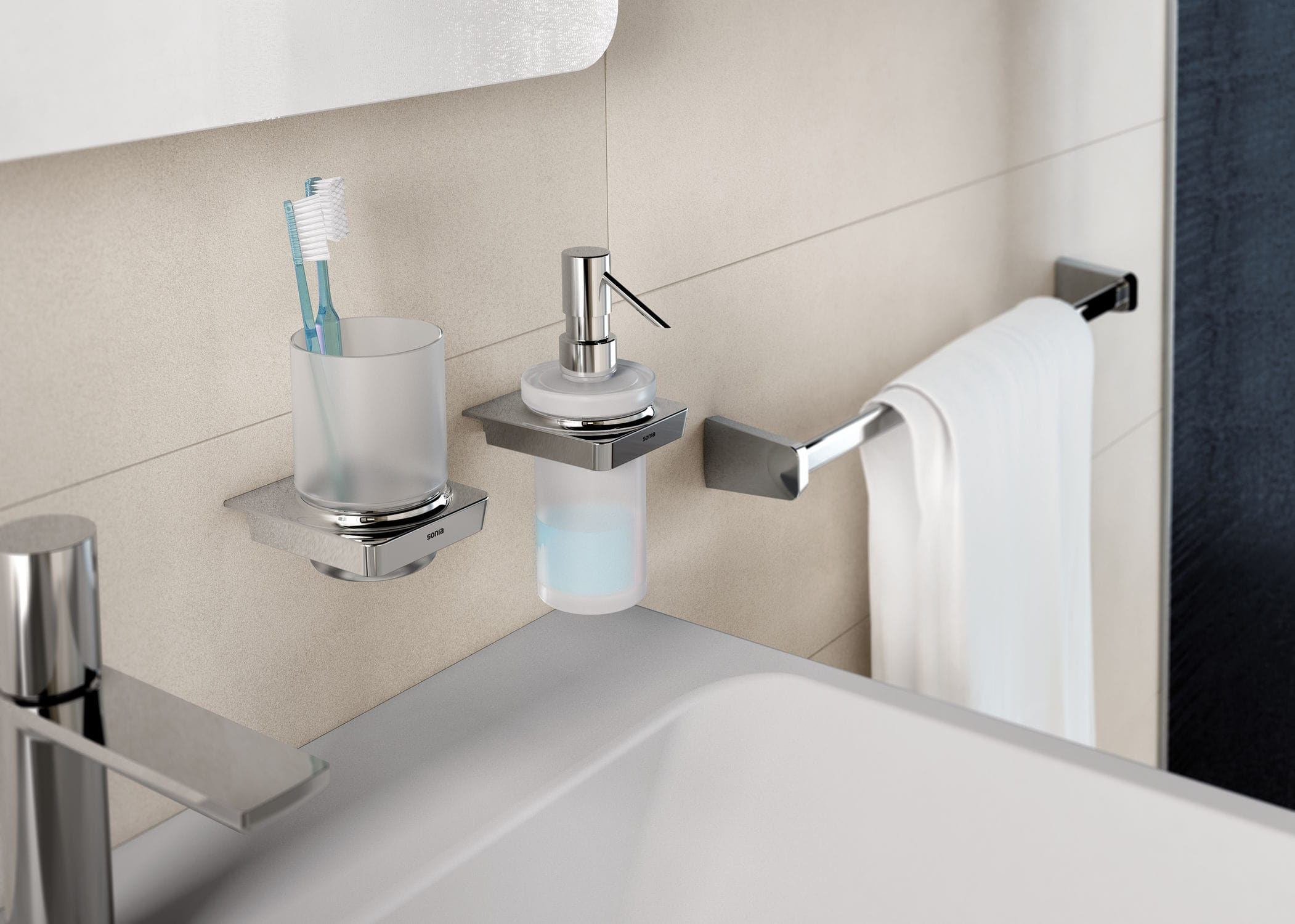 Commercial Soap Dispenser Wall Mounted Metal Manual S6