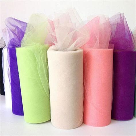 1PC Tulle Fabric Rolls Tulle Roll 15cm 25yards For Tutu