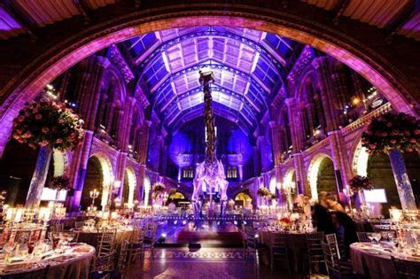 Natural History Museum Wedding   £20,000 venue London