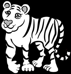 470+ Gambar Hitam Putih Macan Gratis