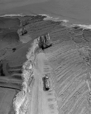 Wreck of the Tanker BP Driver off Nash Point