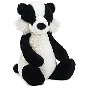Jellycat Woodland Badger 12""
