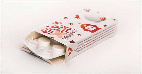 First Aid Cool Medicine packaging 5 30+ Beautiful Examples of Medicine Packaging Designs For Inspiration