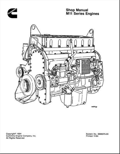 Cummins Engine M11 Series