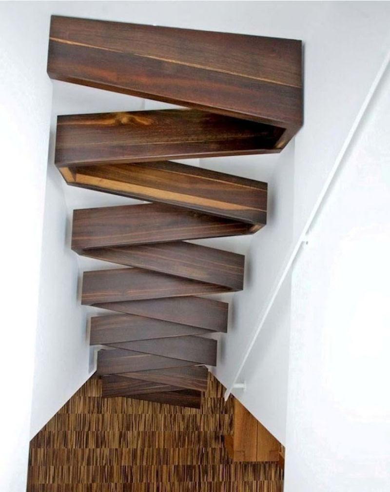 Escadas incrivelmente projetadas que estão um degrau acima das demais 14