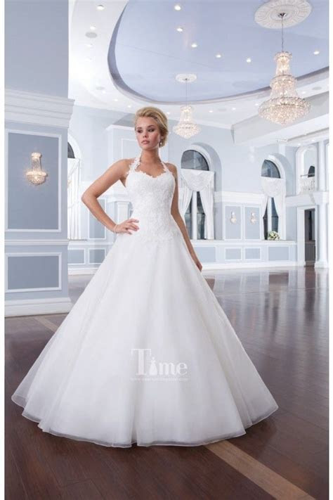 Simple Ball Gown Sweetheart with removable Halter Neck