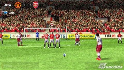 FIFA Soccer 09 Screenshot